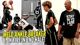 LaVar Ball Didn't Approve of LaMelo's Shot In Crunch Time | What U Think? Melo Catches FIRE In 2nd!