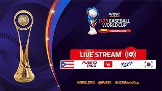 Puerto Rico v Korea – U-23 Baseball World Cup 2018