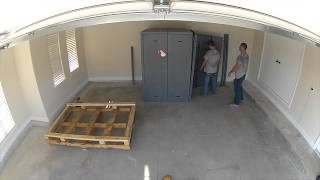 Atlas Safe Room Install Time Lapse