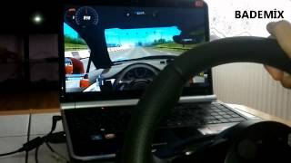Logitech Driving Force GT ile Test Sürüşü CITY CAR