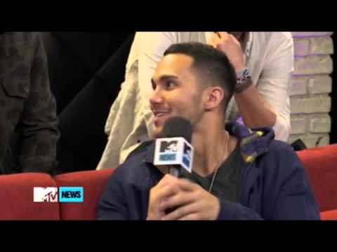 Big Time Rush Were Carlos's 'Support Team' When He Proposed