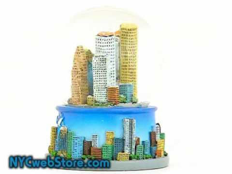 Houston Snow Globe - Texas Snow Globe