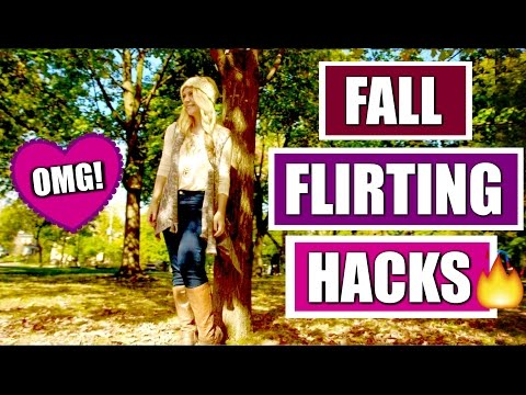 10 Ridiculously Amazing FALL FLIRTING HACKS Every GIRL Should Know!!! Expert Tips | Ask Kimberly