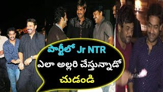 Jr NTR Party time with Tollywood Celebrities | Jr ntr | Tollywood Latest news