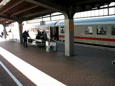 Dortmund Hbf: Einfahrt IC 2311 mit Zugansage nach Ankunft