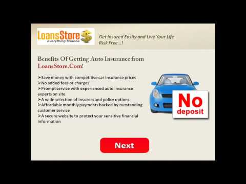Auto Insurance with No Deposit