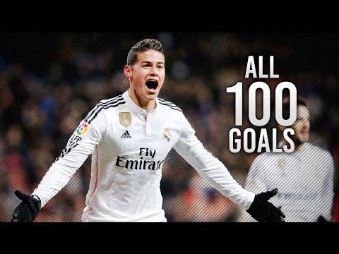 James Rodriguez ● All 100 Career Goals 2007-2016 | HD