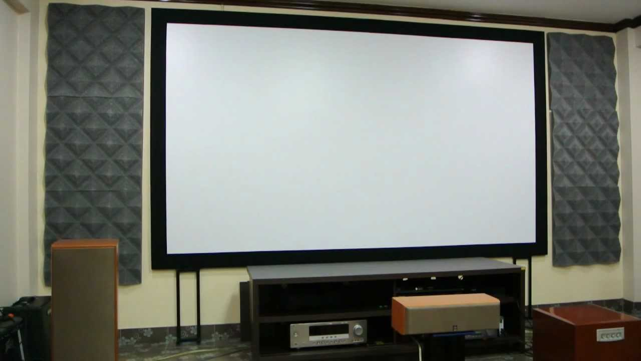 Diy Fix Projector Screen With Laminate Sheet Material