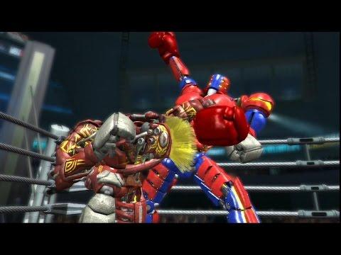 REAL STEEL THE VIDEO GAME-NUMMSKULL vs PIGSY & ASHRA & Red MIDAS(ЖИВАЯ СТАЛЬ)