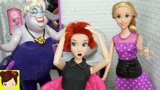 download musica Rapunzel Le Corta Todo El Pelo Ariel Por La Culpa De Ursula - Salon de Belleza de Barbie