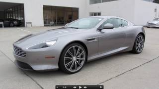 2012 Aston Martin Virage Start Up, Exhaust, and In Depth Tour