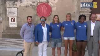 La Nazionale femminile ospite al Parco Archeologico di Paestum
