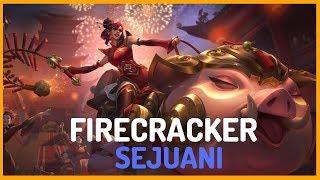 Firecracker Sejuani Skin Spotlight - Teaser - League of Legends
