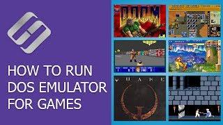 How to Run DOS Emulator for Games Like Doom, Quake, Duna, Fallout and PC Programs 💻 🎮 🙂