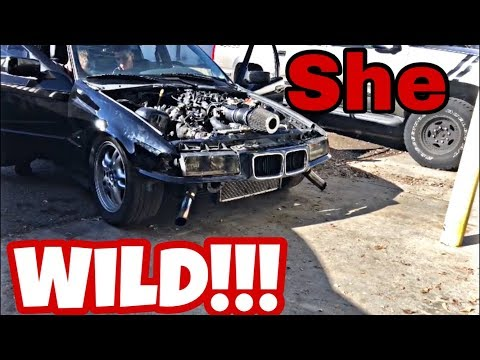 FIRST REAL DRIVE IN BUDGET 5.3 LS SWAPPED E36 *FRESHLY TUNED*