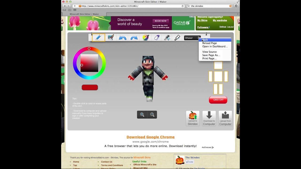 Minecraft skin editor what is cs go steam id