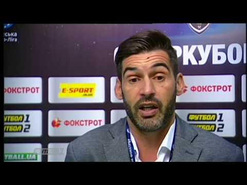 Эксклюзивный сюжет о матче за Суперкубок Украины