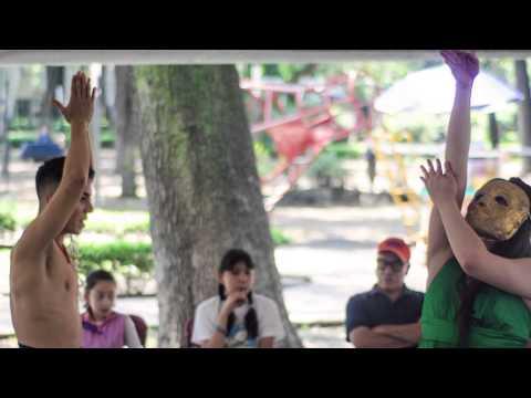 Teatro en plazas públicas Teatro en tu barrio 2014