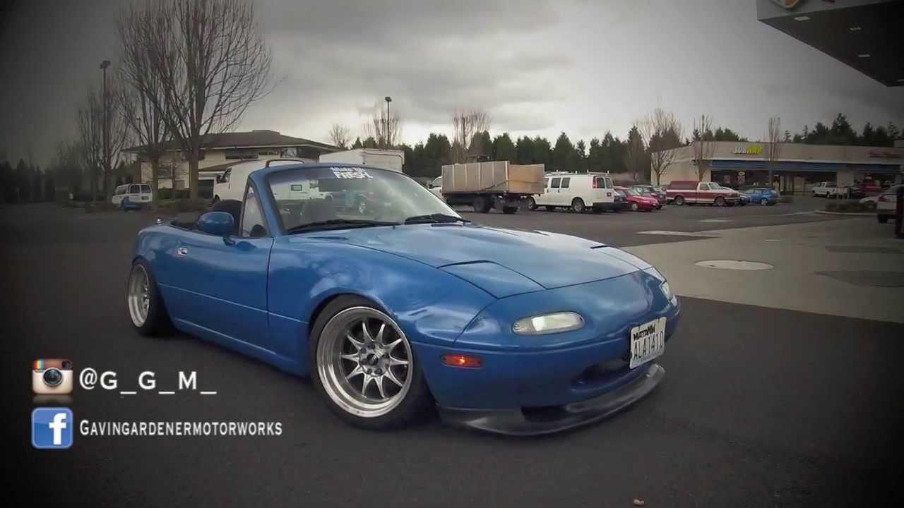 Stance Clean Slammed Mazda Miata Mx5 Youtube