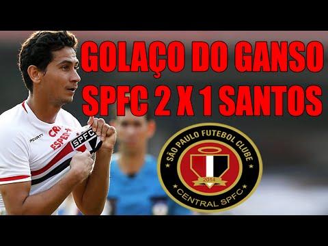 Golaço de Ganso - São Paulo 2 x 1 Santos (24/08/2014) HD