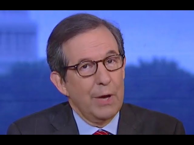 Chris Wallace finally loses it on Trump as market plunges