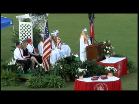 Bacon County High School Graduation Ceremony