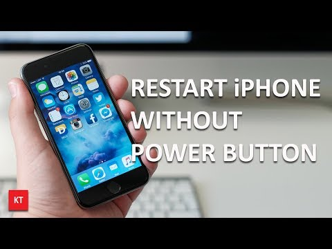 How to restart iPhone without power button