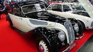 1944 BMW 327 Coupé - Exterior and Interior - Classic expo Salzburg 2016