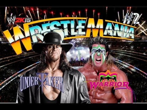 Ultimate Warrior Vs Undertaker Wwf 1991
