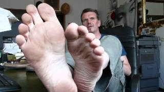 You have to lick my feet clean if you want the job / Leck mir die Füße, wenn du den Job haben willst