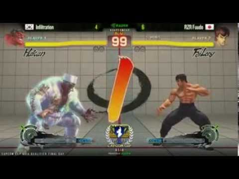 FT7 - Infiltration (Aku/Hak) vs. RZR.Fuudo (Fei) - Capcom Cup (Asia Finals)