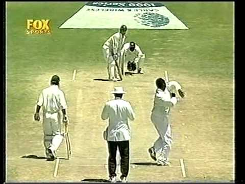 Justin Langer 127 vs West Indies Antigua 1999