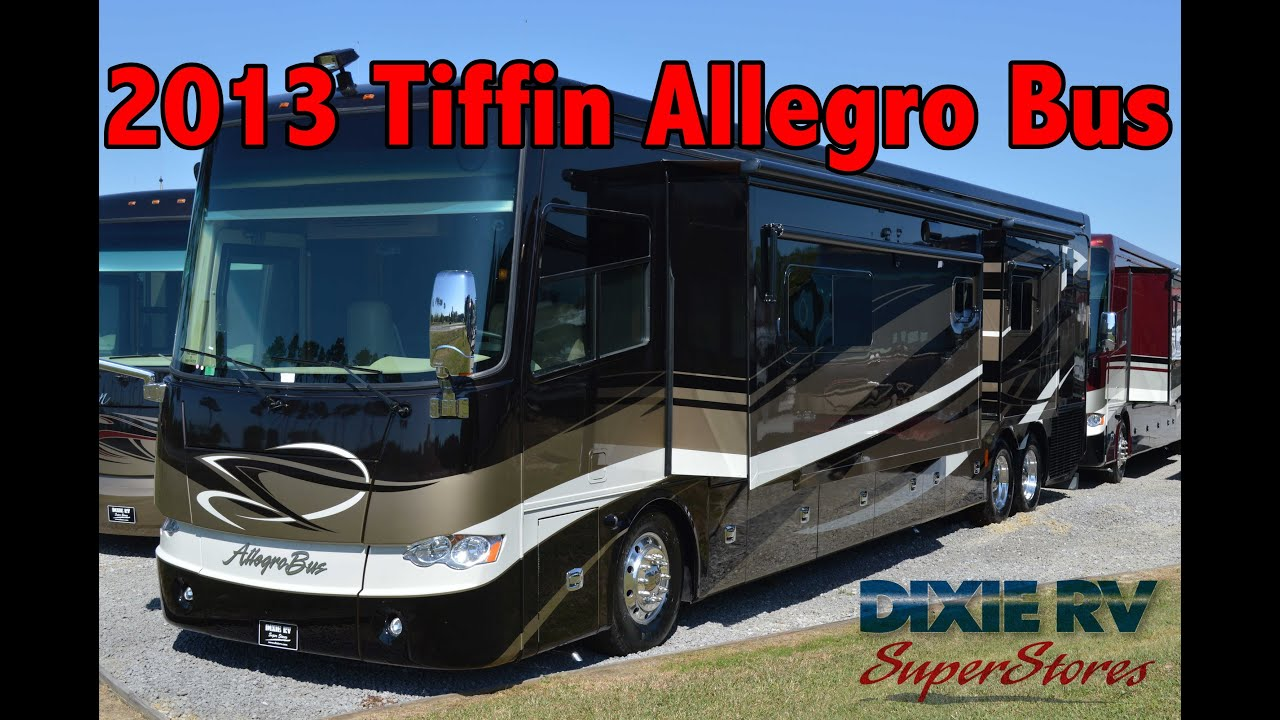 2013 Tiffin Allegro Bus 45lp For Sale Dixie Rv Hammond
