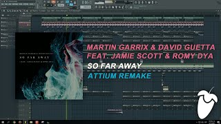 Martin Garrix & David Guetta - So Far Away (Original Mix) (FL Studio Remake + FLP)
