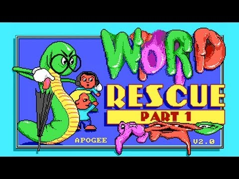 LGR - Word Rescue and Math Rescue - DOS PC Game Review