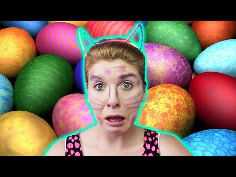 Easter Egg Bunny Makeup Tutorial