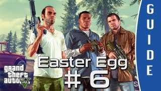GTA V (Grand Theft Auto 5) Guide | Easter Egg #6 - No Country for Old Men [HD]
