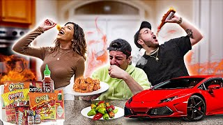 Eat the Spicy Food, Win the Lamborghini - Spicy Food Challenge