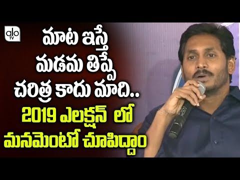 YS Jagan Sensational Comments On Chandrababu | AP Special Status, Railway Zone | Alo Tv Channel