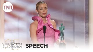 Emily Blunt: Award Acceptance Speech | 25th Annual SAG Awards | TNT