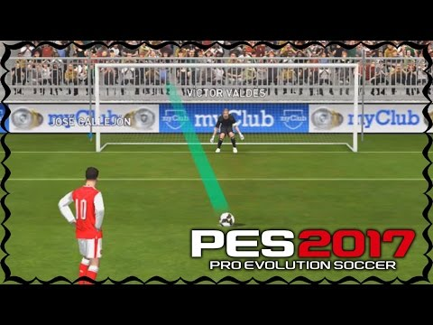 Pro Evolution Soccer 2017 Mobile PENALTY SHOOTOUT Gameplay (iOS / Android)