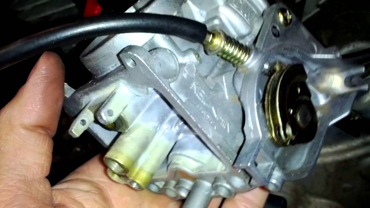 2005 Suzuki Eiger 400 Carburator YouTube