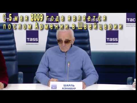 Не дали задать Азнавуру вопрос о Серже Саргсяне. Но он ответил