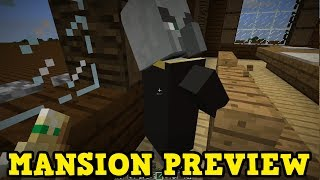 Minecraft Xbox Preview: Woodland Mansions in TU54