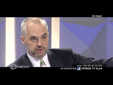 Opinion - EDI RAMA (10 maj 2012)