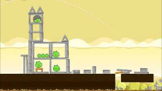 Official Angry Birds Walkthrough Mighty Hoax 5-21