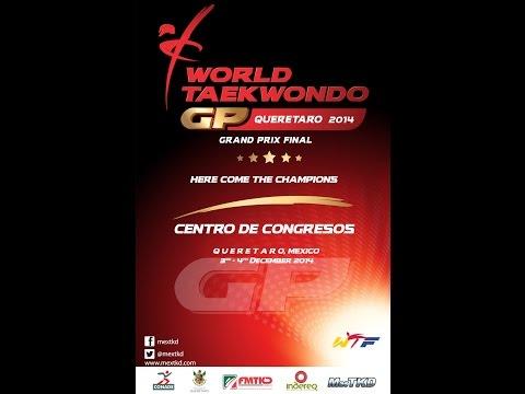 Wtf World Taekwondo Grand Prix 2014 Final Day 1 - Quarter Finals video
