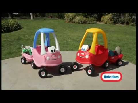 Little tikes new cozy coupe youtube for Little tikes motorized vehicles