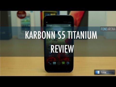 Karbonn Titanium S5 Review