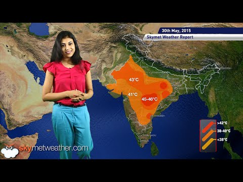 30-05-2015 - Skymet Weather Report